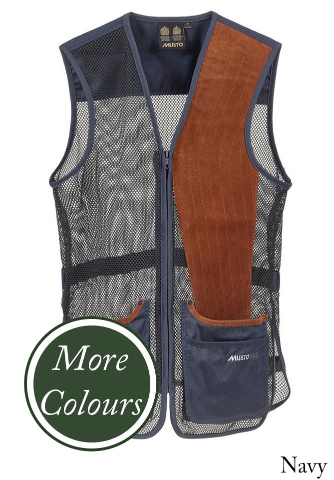 99dae3309de91 Musto Mens Competition Skeet Vest Left Handed