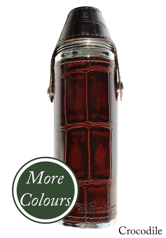 William Evans 10 Oz Hunter Flask Hip Flasks And Bar Sets